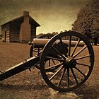 Civil War Cannon by debidabble