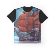 Ship on ice Graphic T-Shirt
