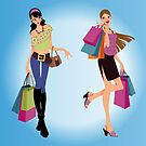 Happy Shopping by SandraWidner