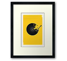 Record 3 Framed Print