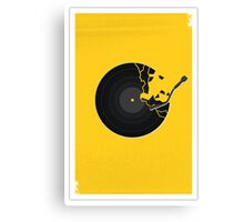 Record 3 Canvas Print