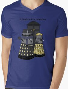 A Study in Extermination Mens V-Neck T-Shirt