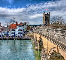 Henley On Thames And The Angel - HDR by Colin  Williams Photography