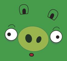 Green like a pig by Blubirdie Shirts