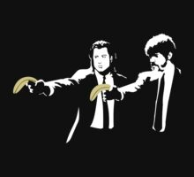 Banksy Pulp Fiction by PFostCSY