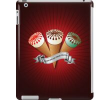 Blood and Ice Cream Trilogy iPad Case/Skin