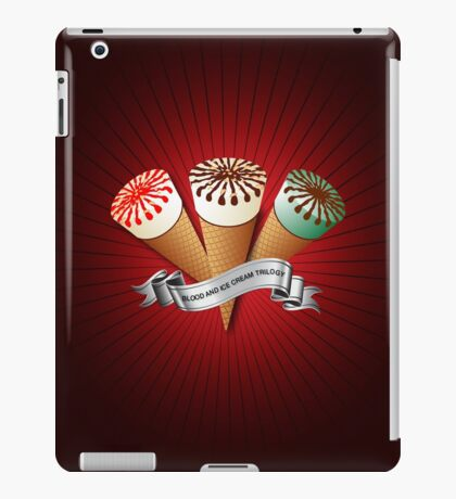 Blood and Ice Cream Trilogy iPad Case/Skin