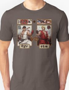 Street Fighter - Ryu vs Ken T-Shirt
