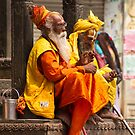 Nepali Holy Men by Philip Alexander