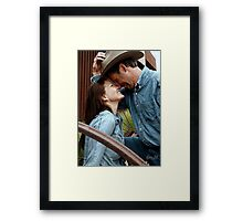 Love In Your Life Framed Print