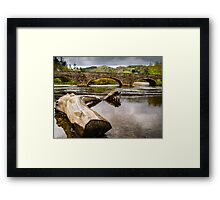Bridge near Cymer Abbey Framed Print
