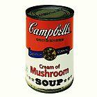 Cream of Mushroom Soup by David W Bailey