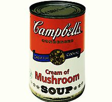 Cream of Mushroom Soup by David W Bailey