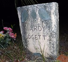 Padgett Grave Stone Artistic Photograph by Shannon Sears by twobrokesistas