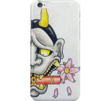 Hannya mask iPhone Case/Skin
