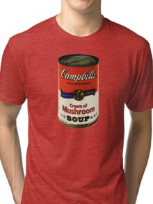 Cream of Mushroom Soup Tri-blend T-Shirt
