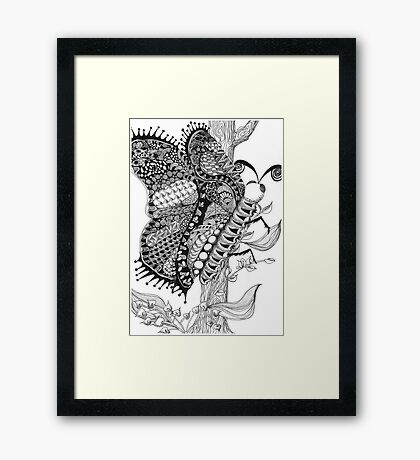 Marching Wings Framed Print