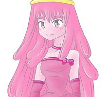 Princess Bubblegum by Dawn Wilson