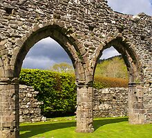 Cymer Abbey Snowdonia by mlphoto