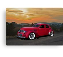 1940 Graham 'Hollywood' Retro Rod Canvas Print