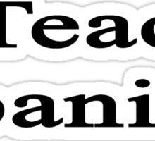 I Teach Spanish Sticker