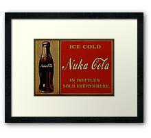 Fallout Nuka Cola Framed Print