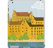 Old city drawing case iPad Case/Skin