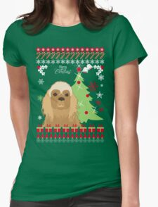 Cooker Christmas Sweater Womens Fitted T-Shirt