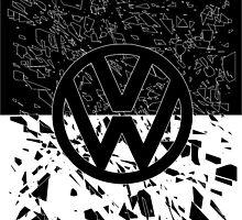 Volkswagen Glass by Jammybee