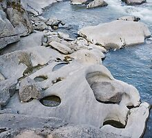 Water Worn Rocks by MatMartin