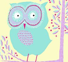 OWL IN A TREE by Jane Newland