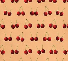 Cute Cherry Picture Pattern by thejoyker1986