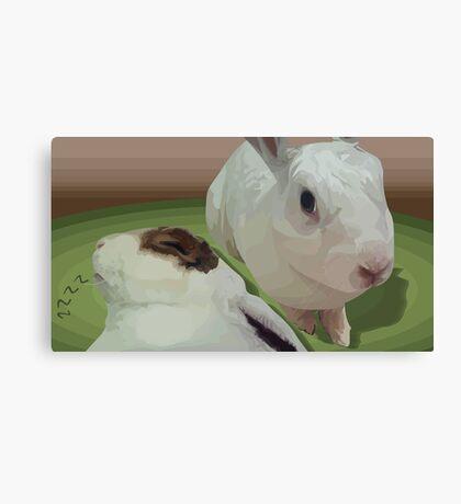 Sweet Bunnies Canvas Print