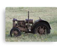 DAYS GONE BY TRACTOR Canvas Print
