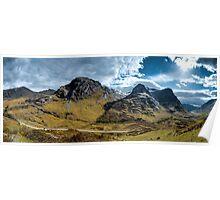 Glencoe Panorama Poster