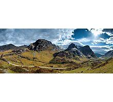Glencoe Panorama Photographic Print