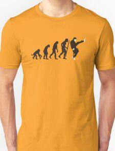 Evolution of silly walks Unisex T-Shirt