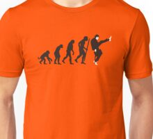 Evolution of silly walks Unisex T-Shirt