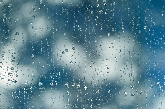 A rainy day by Anne Staub