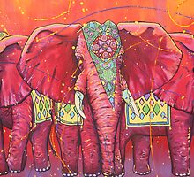 The Universal Indian Elephants, #69 by Nick Gibson