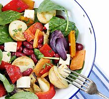 Bean and Vegetable Salad by psctran