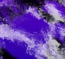 Purple Abstract Iphone Case by Bryan Livezey