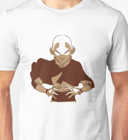 Minimalist Aang from Avatar the Last Airbender Unisex T-Shirt
