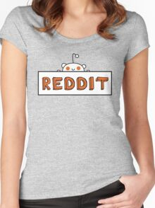 Reddit Sign Women's Fitted Scoop T-Shirt