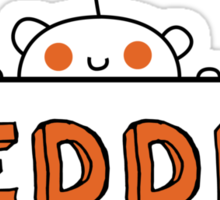 Reddit Sign Sticker