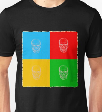 Pop-art skulls Unisex T-Shirt