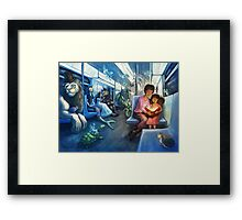Journey Framed Print