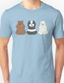 We Bare Wise Bears T-Shirt