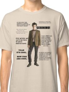The Best of the 11th Doctor Classic T-Shirt