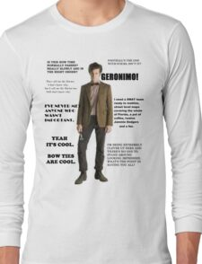 The Best of the 11th Doctor Long Sleeve T-Shirt
